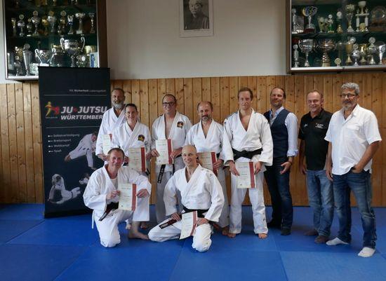 Ju-Jutsu Meisterprüfung im TSB Ravensburg
